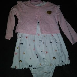 Other - Baby girl sweater and dress